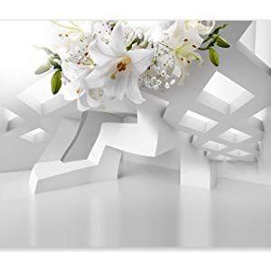 Murando Fototapete Blumen Lilien 400x280 Cm Vlies Tapete