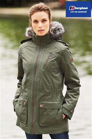 Buy Berghaus Green Holburn Parka from the Next UK online shop £215 ...