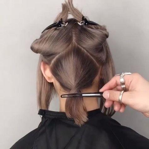 Cool hair cutting techniqu9e ✂️🎥