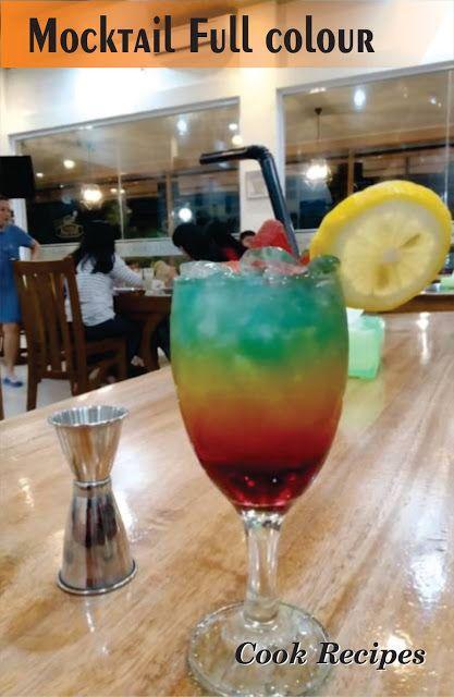 Mocktail Full Colour Cook Recipes Minuman Tanpa Alkohol Pepsi Alkohol