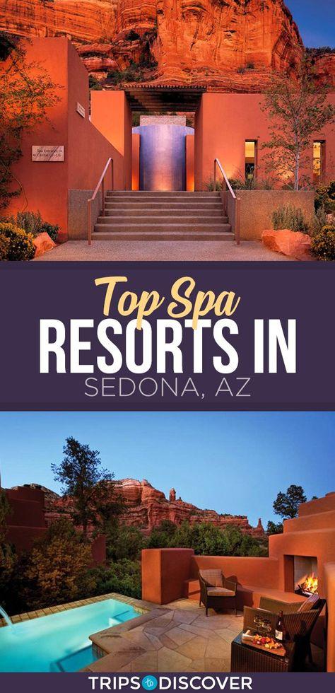 8 Rejuvenating Spa Resorts in Sedona, Arizona - Top 8 Spa Resorts in Sedona, Arizona - Arizona Road Trip, Sedona Arizona, Arizona Spa, Arizona Resorts, Arizona Travel, Best Resorts In Sedona, Sedona Resort, Sedona Hotels, Looks Cool