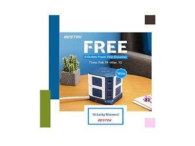 Win A Bestek Power Strip Or Amazon Gift Card Ends Mar 10th Amazon Gifts Amazon Gift Cards Gift Card