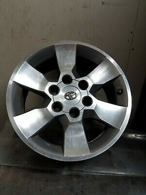 10 11 12 13 Toyota 4runner 17 Silver 6 Spoke Alloy Wheel Rim Oem Factory Wheel Rims 4runner Toyota 4runner