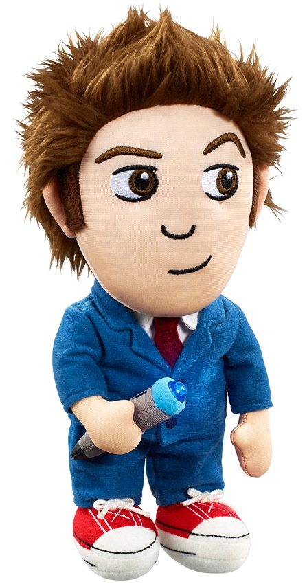 Doctor Who Tenth Doctor 9 Inch Light Up Plush Tenth Doctor Doctor Light Doctor Who Merchandise