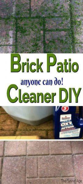 deck cleaner brick patios clean patio