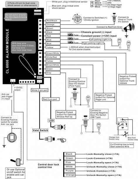 Adt Alarm Wiring Diagram With Images Car Alarm Alarm System