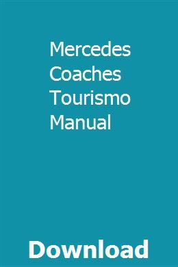 Mercedes Coaches Tourismo Manual Repair Manuals Chrysler Lebaron Used Buses For Sale