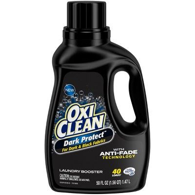 Oxiclean Dark Protect Liquid Laundry Additive 50 Fl Oz