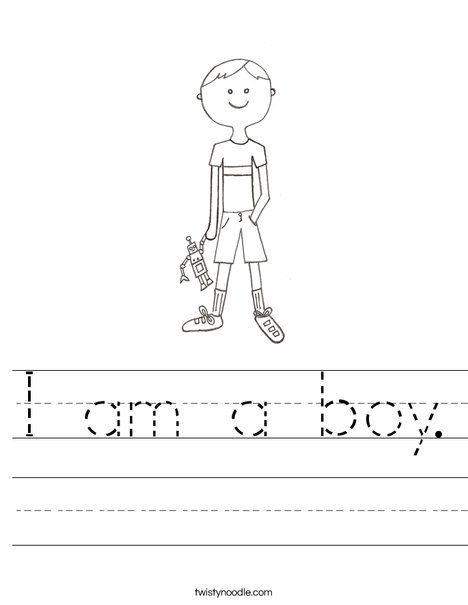 29+ Worksheets for kindergarten i am writing sheets Top