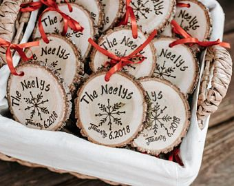 Rustic Wedding Favors Snowflake Wedding Favors Winter Wedding Favors Wedding Ornaments Christmas Wedding Favors Snowflake Wedding Favor Diy Wedding Favors