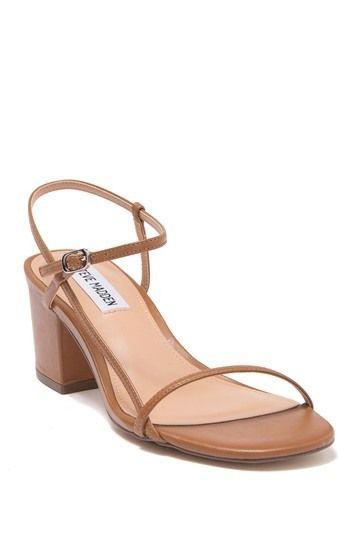 steve madden idea leather block heel