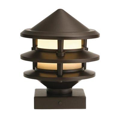 Kichler Deck Light 28316 1 Pack 3 Watt Olde Bronze Low Voltage