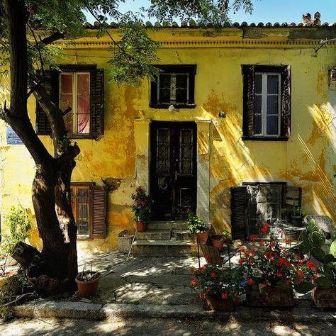 bluepueblo:  Ancient House, Athens, Greece photo via susan