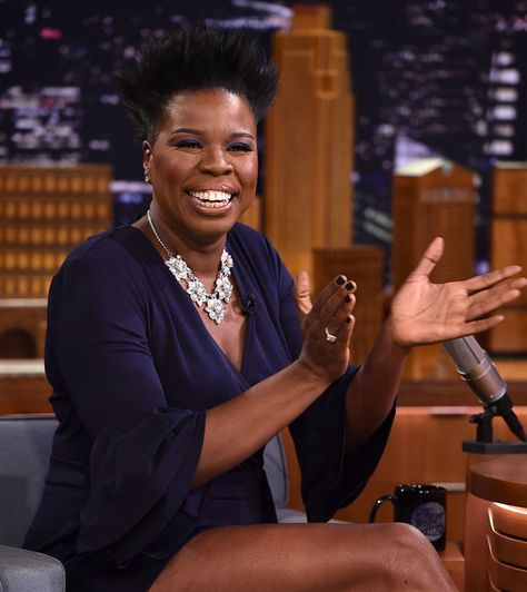 Leslie Jones visits 'The Tonight Show Starring Jimmy Fallon.'