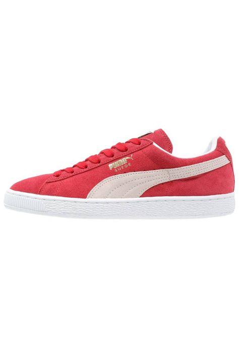 Puma. CLASSIC - Sneaker low - team regal red/white ...