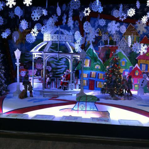 Lord & Taylor NYC Christmas window
