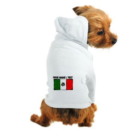 c3379b64d Custom Mexico Flag Dog Hoodie on CafePress.com