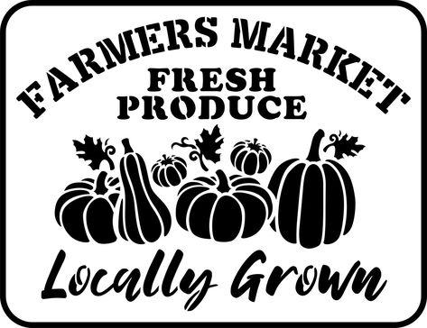 Farmer's Market - Jami Ray Vintage Stencil