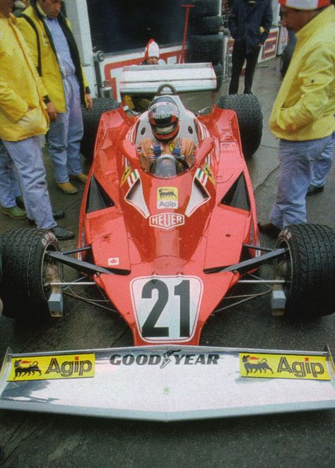 Gilles Villeneuve 1977 Canadian Grand Prix