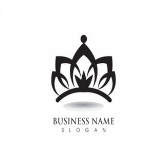 Luxury Crown Logo Luxury Crown Royal Png And Vector With Transparent Background For Free Download Crown Logo Logo Templates Salon Logo Design