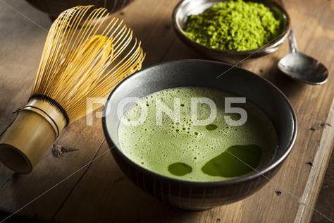Stock Photograph: Organic green matcha tea ~ Image #45919032