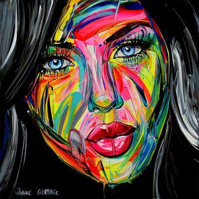 Galerie Site Officiel De L Artiste Peintre Peintures Art Abstrait Portrait Abstrait Fond D Ecran Pop Art
