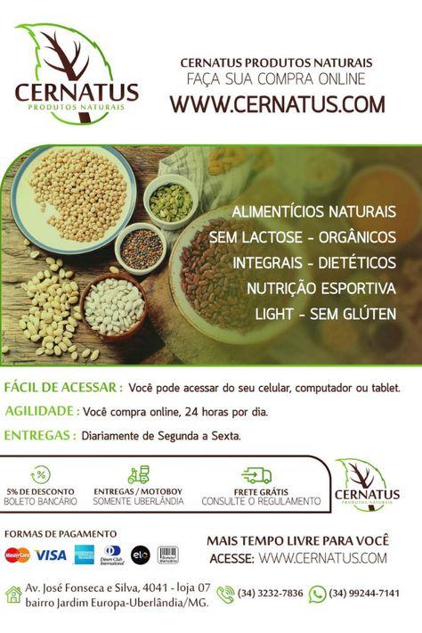 92d14423986 Procurando por produtos naturais  Conheça a CERNATUS. Visite a nossa loja  virtual e faça