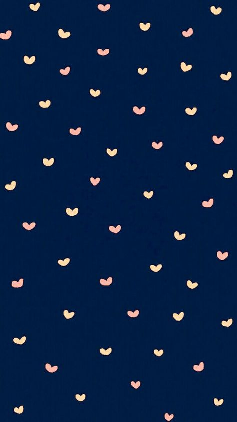 ネイビーがかわいいハート♥️のiPhone壁紙 Cute Disney Wallpaper, Cute Wallpaper Backgrounds, Kawaii Wallpaper, Heart Wallpaper, Wallpaper Iphone Disney, Pink Wallpaper, Tumblr Wallpaper, Wallpaper Quotes, Pattern Wallpaper