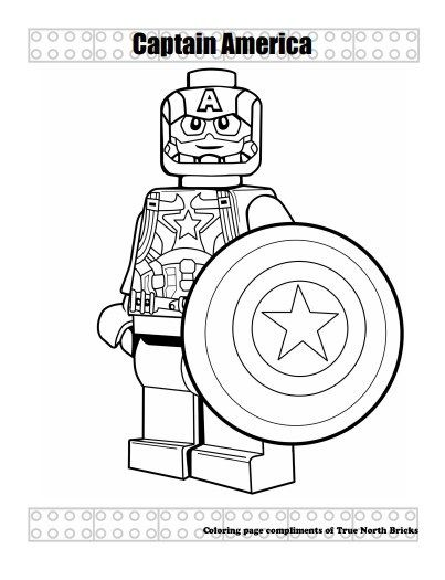 Super Heroes Lego Coloring Pages Superman Coloring Pages Captain America Coloring Pages