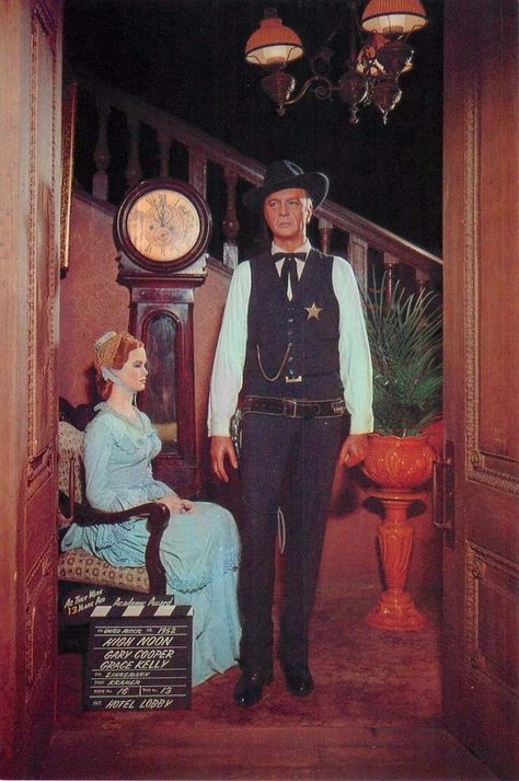 Gary Cooper Grace Kelly High Noon 1952 4x6