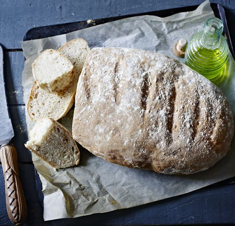 The Spanish love their bread and after tasting this, so do we! With the starter mix, it's halfway to a sourdough and it's a good old-fashioned bread that keeps well.