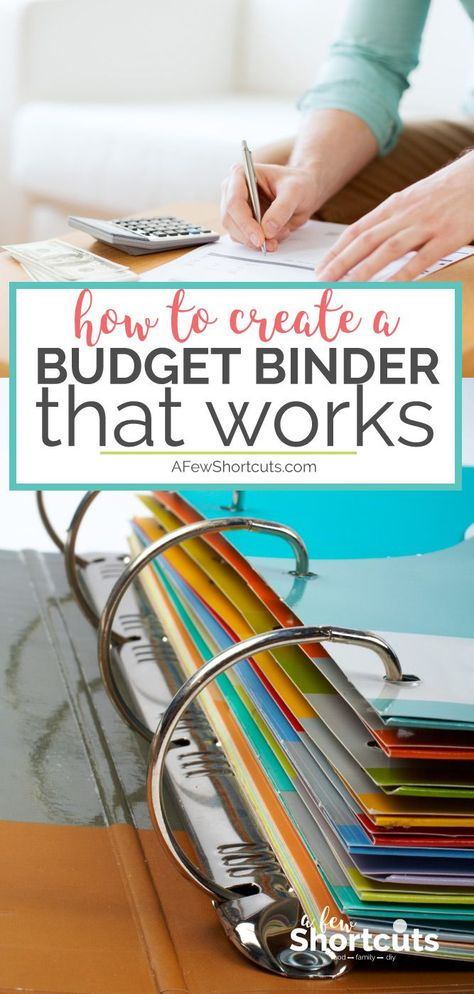 Get your finances organized and all in one place. Learn How to create a budget binder that works and customize it to your needs. budgeting How to Create a Budget Binder That Works Excel Budget, Monthly Budget, Budget Spreadsheet, Home Budget Binder, Budget Notebook, Budget Tracking, Monthly Expenses, Making A Budget, Create A Budget