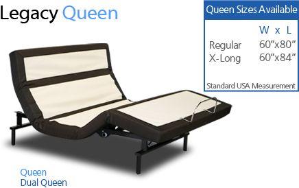 Legacy Adjustable Bed Craftmatic Adjustable Beds Adjustable