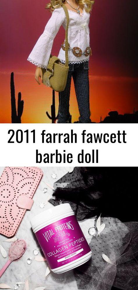 2011 farrah fawcett barbie doll