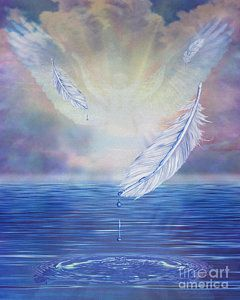 Prophetic Painting Angel Feathers By Todd L Thomas Spiritual Paintings Prophetic Painting Spiritual Art