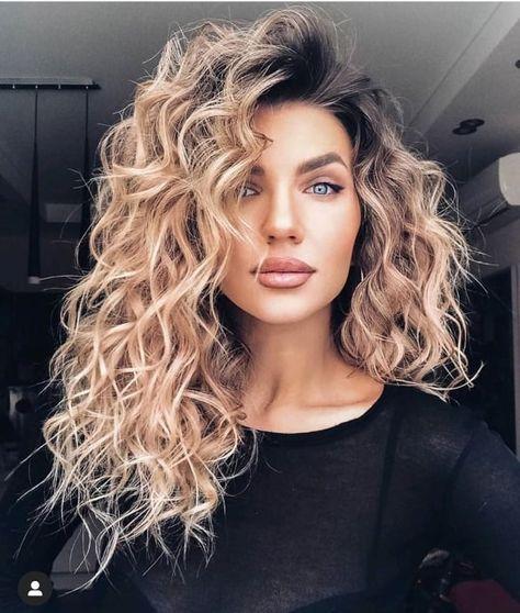 Medium Hair Styles, Curly Hair Styles, Natural Hair Styles, Curly Medium Length Hair, Natural Wavy Hair, Mid Length Hair Styles For Women, Long Layered Curly Hair, Cute Medium Length Haircuts, Long Natural Curls
