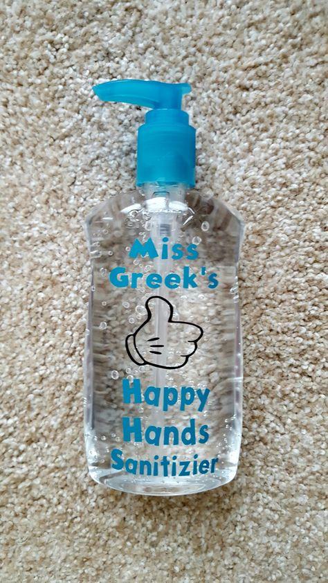 Personalized Hand Sanitizer Hand Soap Bottle Hand Sanitizer