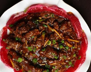 Spicy orange beef is quick and easy to make - perfect for a busy weeknight.