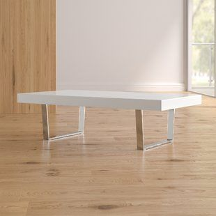 Lemington Coffee Table With Splayed Legs Coffee Table