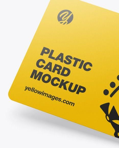 Download Plastic Card Mockup In Stationery Mockups On Yellow Images Object Mockups 1000 In 2020 Stationery Mockup Plastic Card Cards PSD Mockup Templates