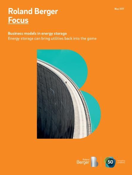 Roland Berger Study Energy Storage Set To Become A Critical