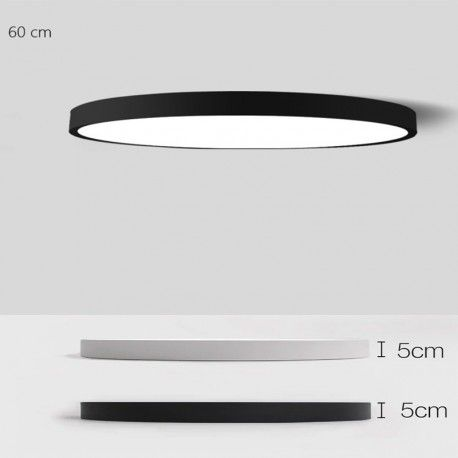 luminaire plafonnier led ultra fin en