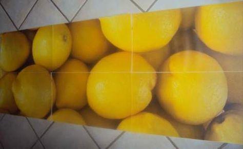 TCM Tchibo Küchenschrank Kühlschrank Aufkleber Zitronen Dining - aufkleber für küchenschränke