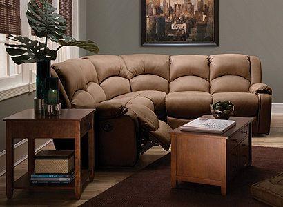 Kathy Ireland Mocha Microfiber Sectional Sofa | Family Room | Pinterest |  Color Walls, Slate And Small Sectional