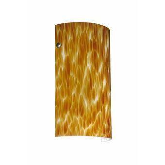 Donovan 1 Light Dimmable Armed Sconce Besa Lighting Wall Sconces Wall Sconce Lighting