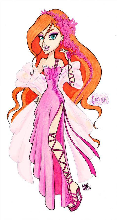 MH Disney: Giselle by Xibira on DeviantArt