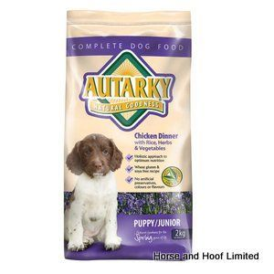 Autarky Puppy Junior Dog Food 2kg Autarky Puppy Junior Dog Food is a complete meal designed to suit the nutritional needs of young working dogs.