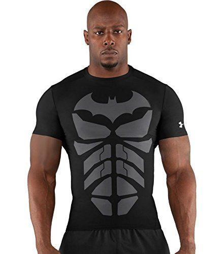 puede longitud Cantidad de  Batman Tee Shirts Archives | Batman Stuff | Sportswear store, Compression  top men, Superhero shirt