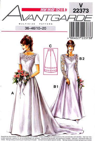 Neue Mode 9neu  patterns in 9  Sewing wedding dress