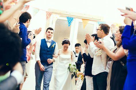 アットホームな結婚式の演出 結婚式 国際結婚 ブライドメイドドレス